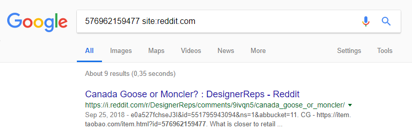 reddit rep search