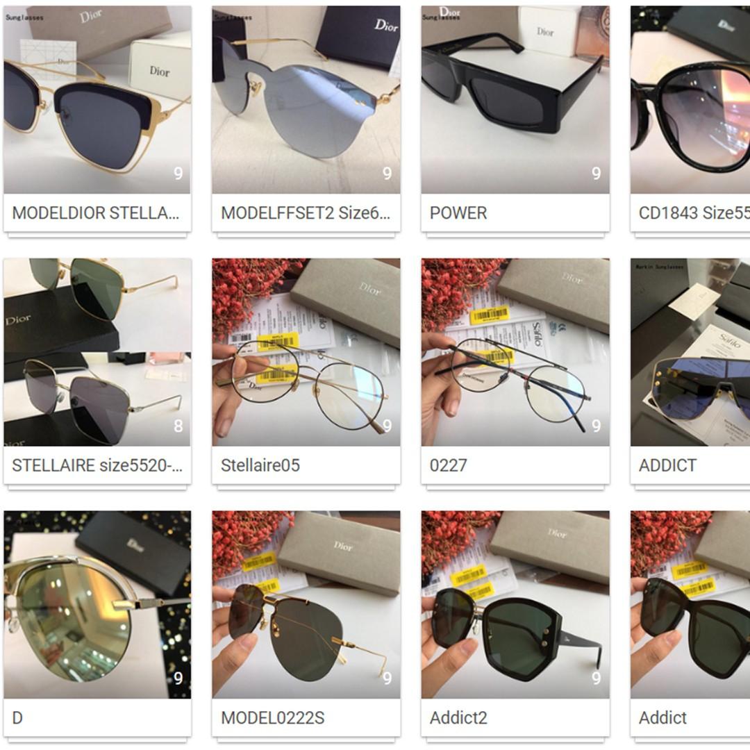 2292fce38dc99 Christian Dior Sunglasses (various) - RepArchive